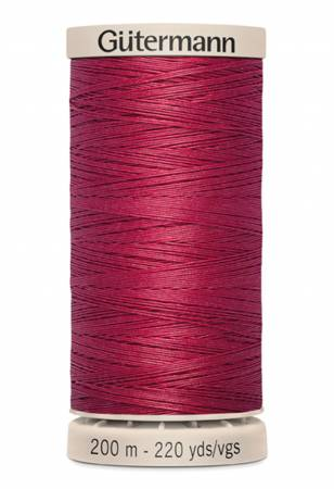 Gutermann Hand Quilting Thread 2453 Cranberry