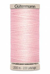 Gutermann Hand Quilting Thread 2538 Pink