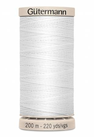 Gutermann Hand Quilting Thread 5709 White