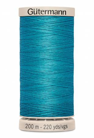 Gutermann Hand Quilting Thread 7235 Peacock Teal