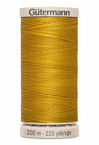 Gutermann Hand Quilting Thread 956 Old Gold