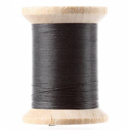 Cotton Hand Quilting Thread 3-Ply 400yd Black