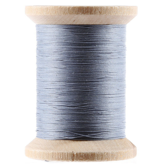 Cotton Hand Quilting Thread 3-ply T-40 400yds Blue