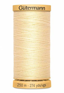Gutermann Thread 250 m. 1105 Cream