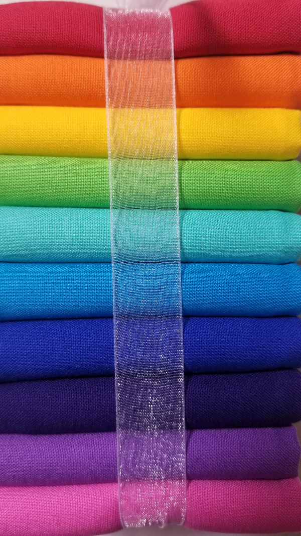 Kona Cotton - Rainbow Fat Quarter Bundle