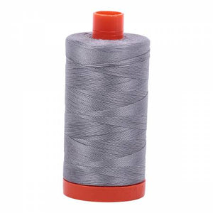 Aurifil 50wt 1300mt - 2605 Grey