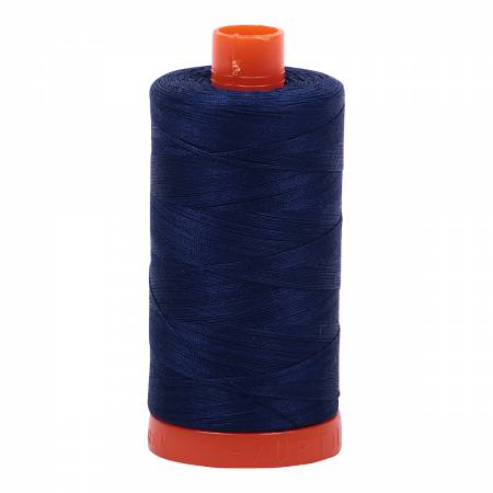 Aurifil 50wt 1300mt - 2784 Dark Navy