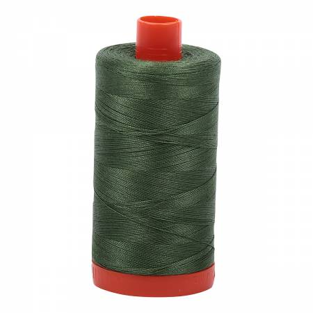 Aurifil 50wt 1300mt - 2890 - Very Dark Grass Green
