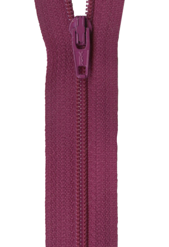 Zipper - Raisin 14in