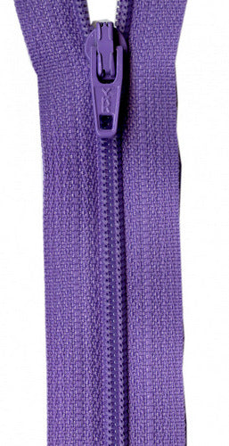 Zipper - Princess Purple 14in