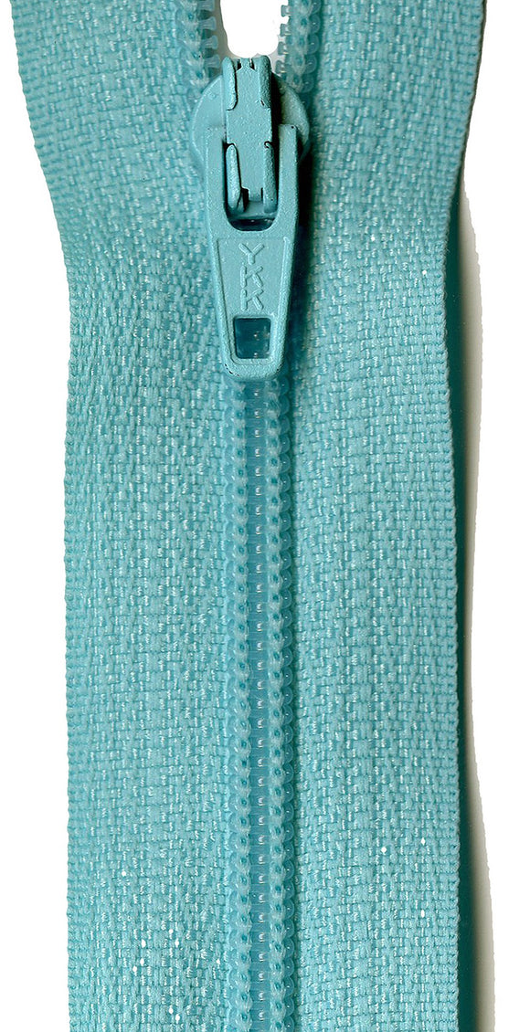 Zipper - Misty Teal 14in