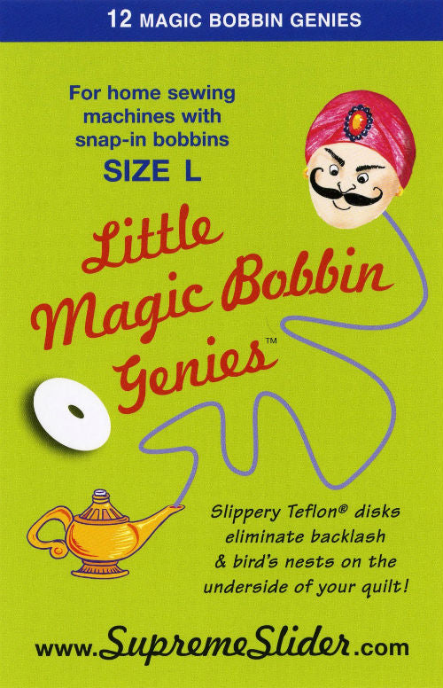 Little Magic Bobbin Genies Snap-In Size L