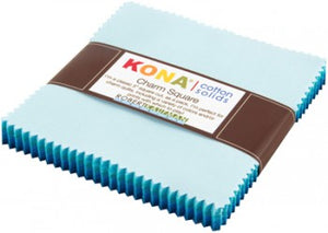 Kona Charm Squares - Pool Party Palette