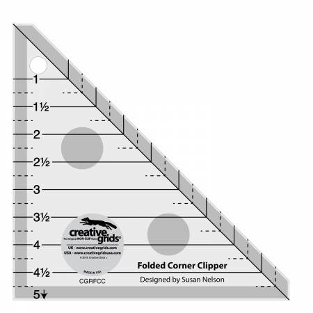 Creative Grids - Folded Corner Clipper Ruler