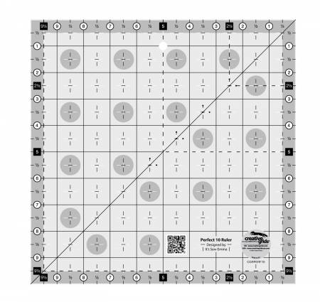 Creative Grids - Perfect 10 Ruler