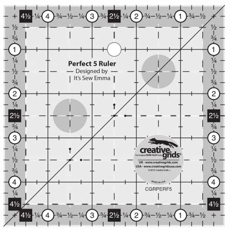 Creative Grids - Perfect 5 Ruler