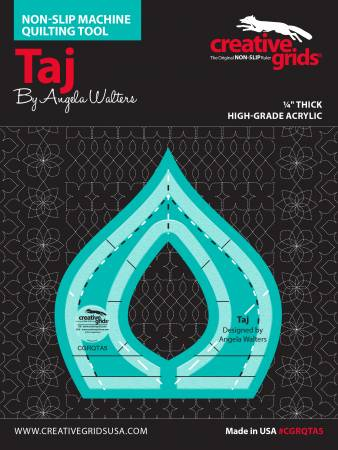 Creative Grids Machine Quilting Tool - Taj by Angela Walters