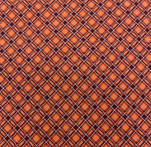 Harvest - Gridded Plaid - Rust