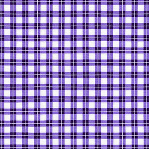 Elizabeth - Garden Plaid - Noble Purple