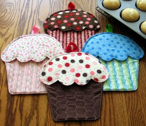 Hot Cakes - Oven Mitts Pattern