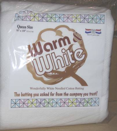 Batting -  Warm and Whitel Package - Queen