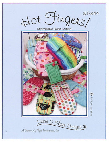 Hot Fingers - Microwave Oven Mitts Pattern