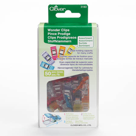 Wonder Clips - Assorted Colors 50pc