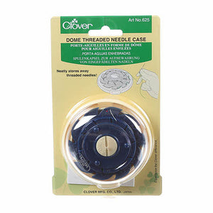 Clover Dome Threaded Needle Case