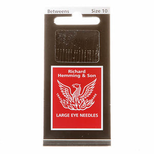 Richard Hemming Between / Quilting Needles Size 10