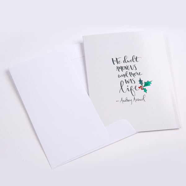 "Christmas Card - ""New Every Morning #1"""