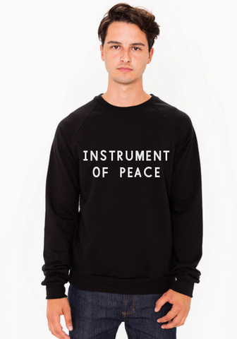 Instrument of Peace Sweater (Black or Navy)