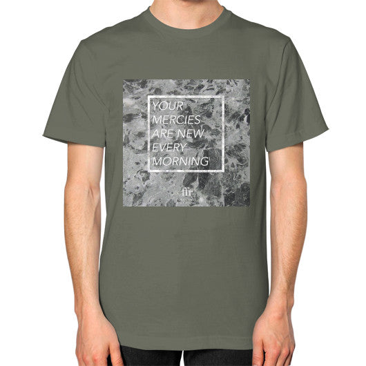 Unisex T-Shirt (on man) Lieutenant Audrey Assad Store