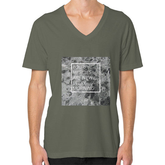 V-Neck (on man) Lieutenant Audrey Assad Store