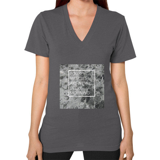 V-Neck (on woman) Asphalt Audrey Assad Store