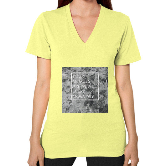 V-Neck (on woman) Lemon Audrey Assad Store