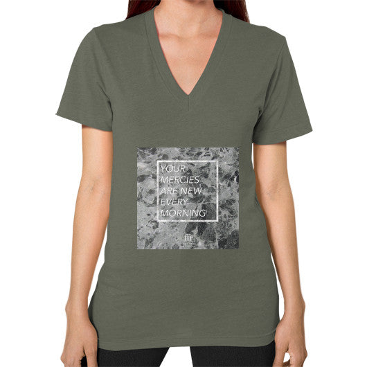 V-Neck (on woman) Lieutenant Audrey Assad Store