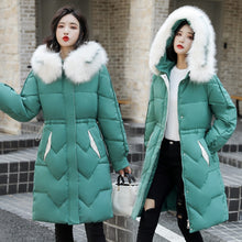 Load image into Gallery viewer, Down Jacket Woman Hooded Winter Women Jacket Plus Size Women Down Coats Jackets Warm Woman Down Parka Fashion Woman Downs Coat