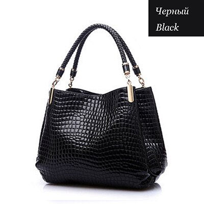 Women Leather Handbags  Luxury Ladies Hand Bags Purse Fashion Shoulder Bag