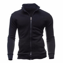 Load image into Gallery viewer, Turtleneck Full Zip Cardigan Mens Coat Sweater Men Fashion