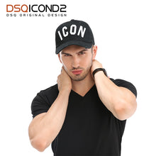 Load image into Gallery viewer, Casquette Hats Solid Pattern Hats Letters ICON Casquette Dad Hip Hop Baseball Cap Snapback Cap