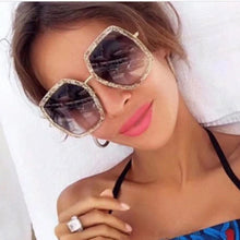 Load image into Gallery viewer, Sunglasses Rays Lady Square Shades Lady Party Sun Glasses
