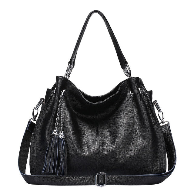 Fashion Women Genuine Leather Handbags Designer Bag Famous Real Leather Bag Ladies's Shoulder Handbag