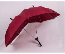 Load image into Gallery viewer, Double top double pole one-piece umbrella global fashion personality foreign trade umbrella creative couple umbrella double pole