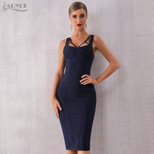 Afbeelding in Gallery-weergave laden, Adyce Summer Bodycon Spaghetti Strap Sleeveless Celebrity Evening Runway Party Dress