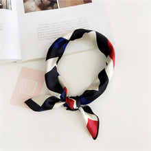 Load image into Gallery viewer, 50X50CM Fashion Women Square Scarf All-match Wraps Elegant Floral Dot Spring Summer Head Neck Hair Tie Band Neckerchief