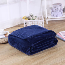 Load image into Gallery viewer, 70x100cm Blanket & Swaddling blankets coral fleece single thick warm student office winter cover leg nap blanket