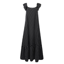Load image into Gallery viewer, ZANZEA Stylish Ruffle Maxi Polka Dot Printed Casual Sundress