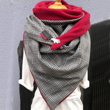 Load image into Gallery viewer, Fashion Solid Soft Wrap Casual Warm Scarf