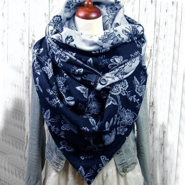 Fashion Solid Soft Wrap Casual Warm Scarf