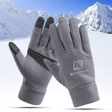 Load image into Gallery viewer, Touch Screen Gloves Windproof Ski Cycling Thicken Fleece Warm Sports Outdoor Gloves